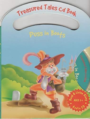 9781845770839: Puss in Boots: Treasured Tales CD Book (Read & Listen Along)