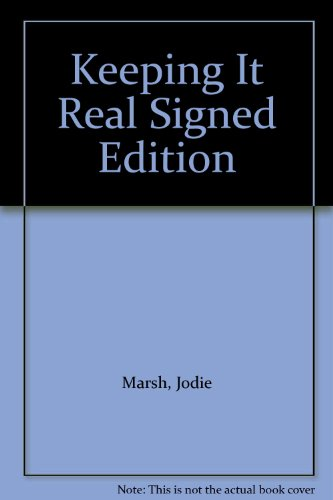 9781845791162: Keeping It Real Signed Edition