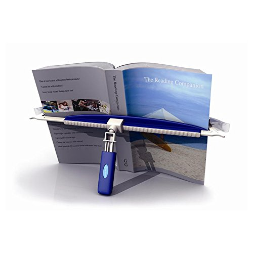 9781845799748: easy read - flexibler Buchständer, Buchstütze, Kochbuchhalter, Konzepthalter , A4 Vorlagenhalter und Notenständer