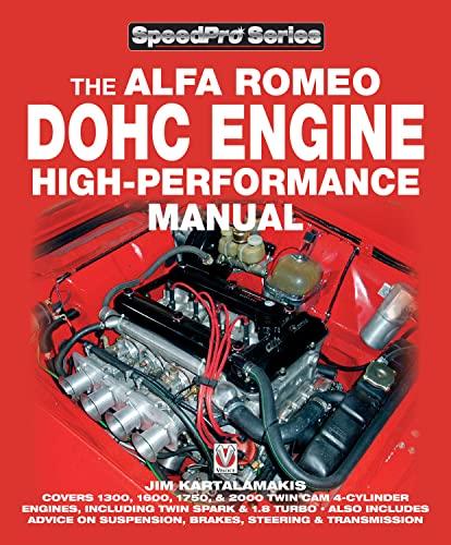 9781845840198: Alfa Romeo DOHC Engine High-Performance Manual (SpeedPro Series)