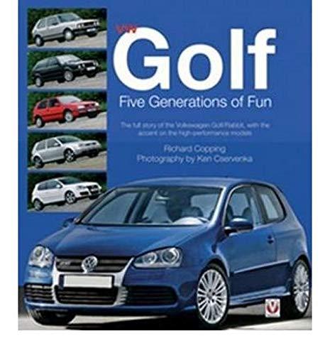 9781845840204: VW Golf Five Generations of Fun
