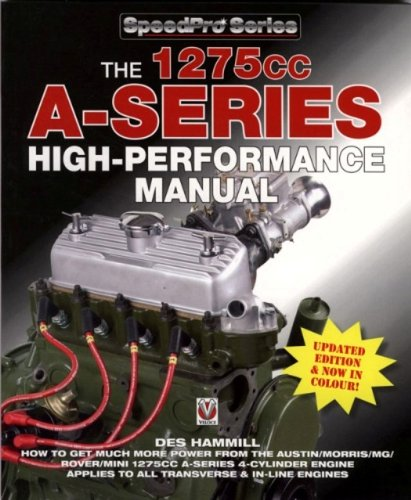 9781845840235: 1275cc A-Series High-Performance Manual (SpeedPro Series)