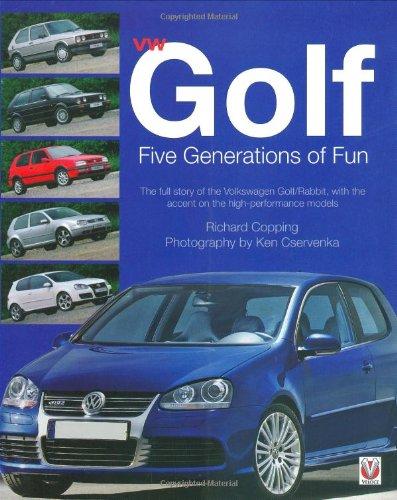 9781845840327: VW Golf Five Generations of Fun