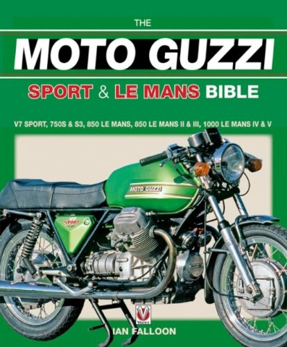 9781845840648: The Moto Guzzi Sport & Le Mans Bible