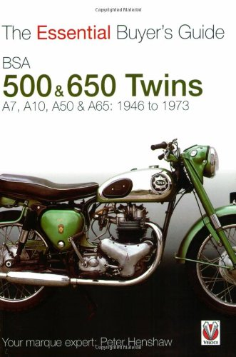 9781845841362: BSA 500 & 650 Twins: The Essential Buyer's Guide