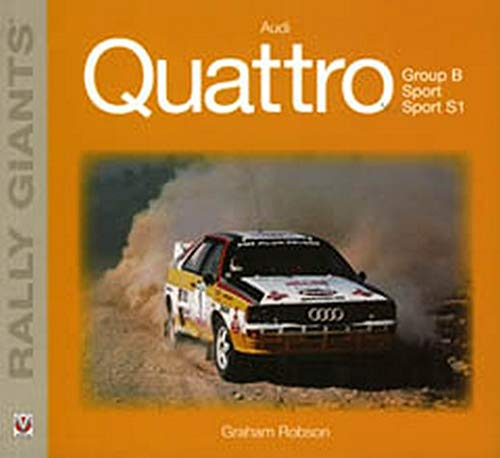 9781845841416: Audi Quattro (Rally Giants Series)