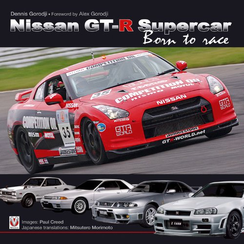9781845842215: Nissan GT-R Supercar: Born to Race (Speedpro (Veloce))