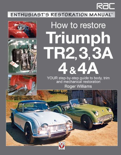 9781845842635: How to Restore Triumph TR2, 3, 3A, 4 & 4A: Your step-by-step guide to body, trim and mechanical restoration (Enthusiast's Restoration Manual)