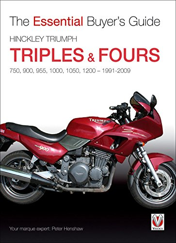 9781845842871: Hinckley Triumph Triples & Fours 750, 900 (The Essential Buyer's Guide)
