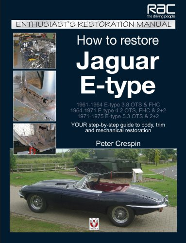 9781845842987: How to Restore Jaguar E-type: Your Step by Step Guide to Body, Trim, and Mechanical Restoration (Enthusiast's Restoration Manual)