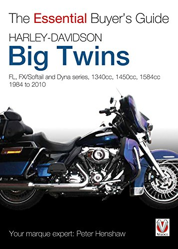 9781845843038: Harley-Davidson Big Twins: FL, FX/Softail and Dyna series. 1340cc, 1450cc, 1584cc 1984-2010 (The Essential Buyer's Guide)