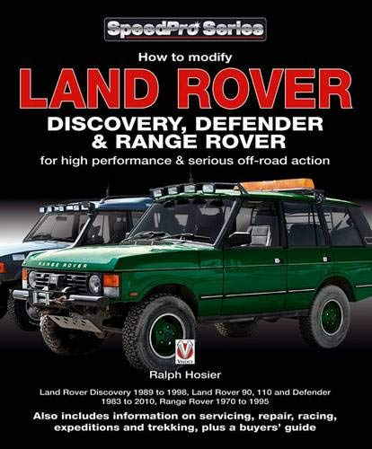 9781845843151: Land Rover Discovery, Defender and Range Rover (SpeedPro Series)