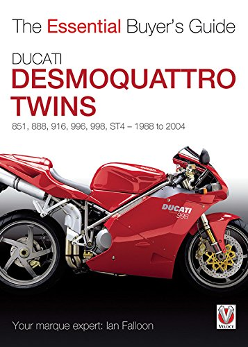 9781845844301: Ducati Desmoquattro Twins: 851, 888, 916, 996, 998, ST4 1988 to 2004 (The Essential Buyer's Guide)