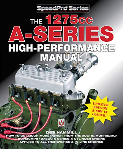 9781845848699: The 1275cc A-Series High Performance Manual (Speedpro): Updated Edition & Now in Colour!