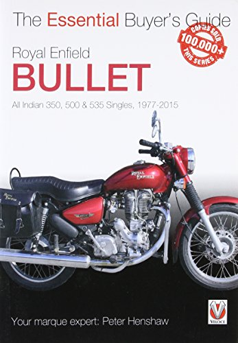 9781845849405: Royal Enfield Bullet: All Indian 350, 500 & 535 Singles, 1977-2015 (Essential Buyer's Guide)