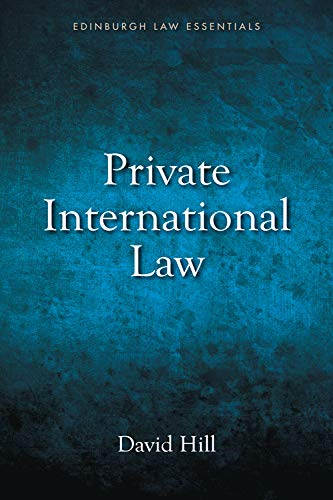 9781845862343: Private International Law Essentials (Edinburgh Law Essentials)