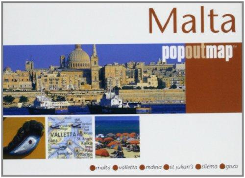 9781845875503: Malta (Popout Map)