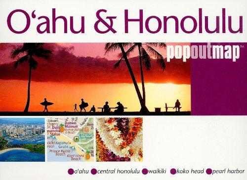 9781845876142: O'ahu and Honolulu popout®map