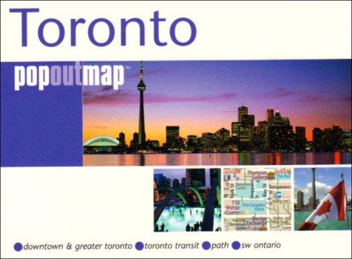 9781845876203: Toronto (Popout Map) (Popout Map)
