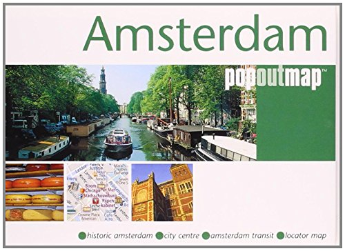 9781845876333: Amsterdam (Popout Map) (Popout Map)
