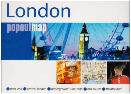 9781845876524: London (Popout Map) (Popout Maps)