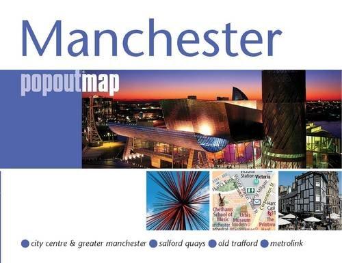 9781845876586: Manchester PopOut Map (Popout Maps)