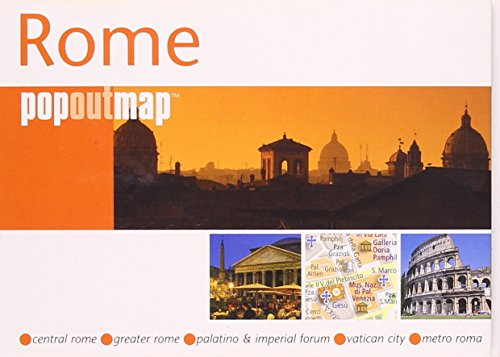 9781845876661: Rome (Popout Map) (Popout Map)