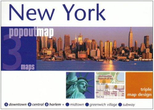 New York (Popout Map) (Popout Map) (Popout Map) - Compass Maps