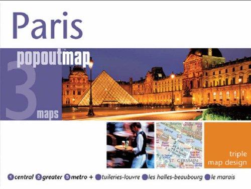 9781845877118: Paris (Popout Map)