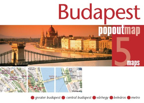 9781845877422: Budapest (Popout Map)
