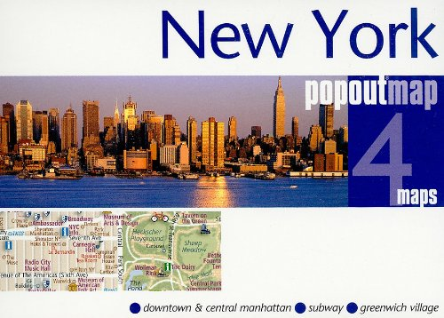 9781845877767: New York popout®map (Popout Map)