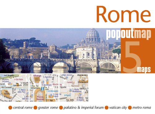 9781845877781: Compass Maps Popout Map Rome (Popout Maps)