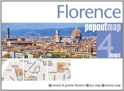 9781845877910: Florence PopOut Map (PopOut Maps)