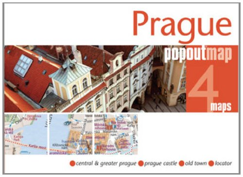 9781845878665: Prague PopOut Map (Popout Maps)