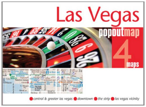 9781845878689: Las Vegas PopOut Map