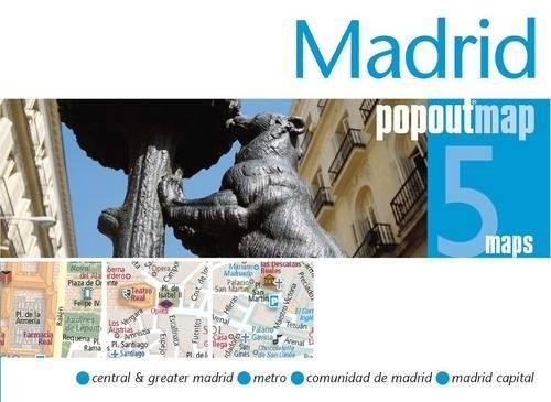 9781845878757: Madrid PopOut Map (PopOut Maps)