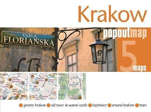Krakow PopOut Map (Popout Maps): Popout Maps