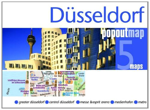 9781845879051: Dusseldorf Popout Map (Footprint PopOut Maps)