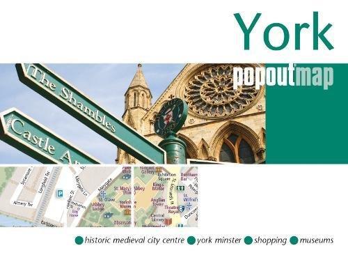 York PopOut Map (Footprint PopOut Maps): PopOut Maps