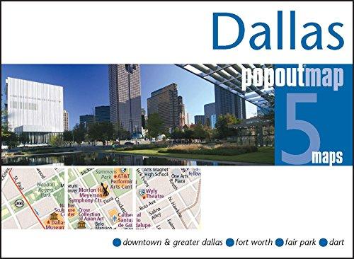 9781845879136: Dallas Popout Map (Popout Maps)