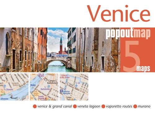 9781845879365: Venice Popout Map: 2 Pop-up Maps in Handy Pocket Size Format