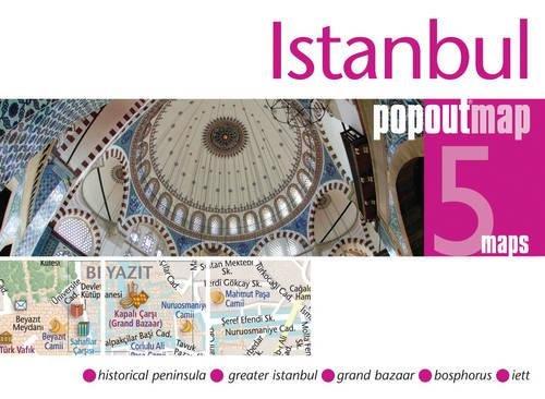 9781845879402: Istanbul Popout Map (PopOut Maps)