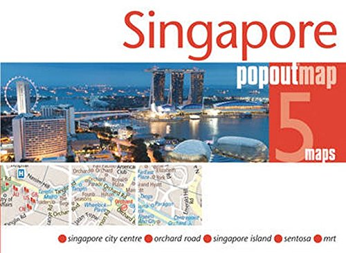 9781845879419: Singapore PopOut Map (PopOut Maps)