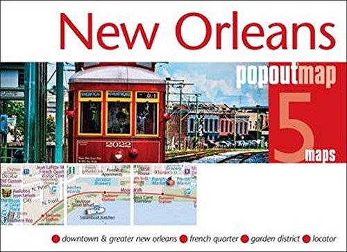 New Orleans Popout Map Double (Popout Maps): Maps, Popout
