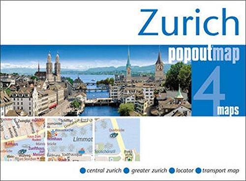 Zurich PopOut Map (PopOut Maps): PopOut Maps