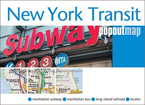 New York Transit Popout Map: Maps, Popout