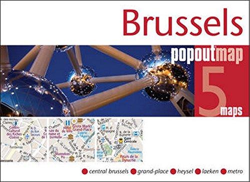 9781845879655: Brussels PopOut Map (PopOut Maps)