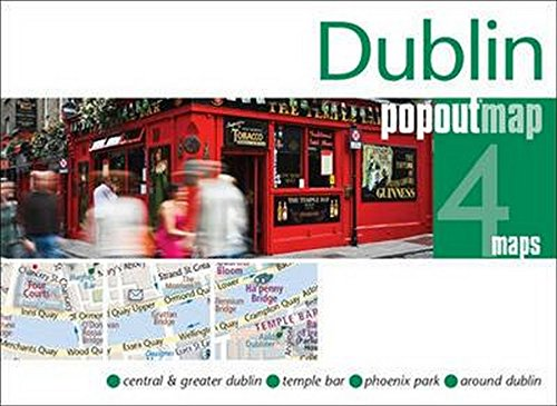 9781845879785: Dublin PopOut Map (PopOut Maps)