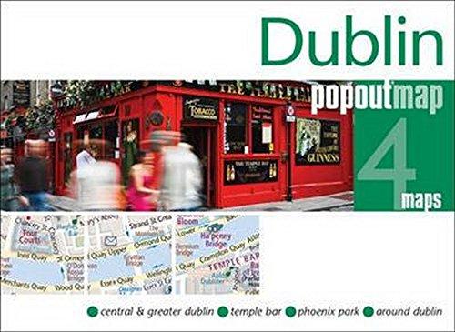 9781845879785: Dublin Popout Map: 4 Maps