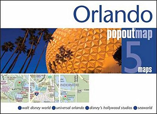 9781845879853: Orlando PopOut Map: Handy pocket size pop up map of Orlando and Walt Disney World Resort (PopOut Maps)
